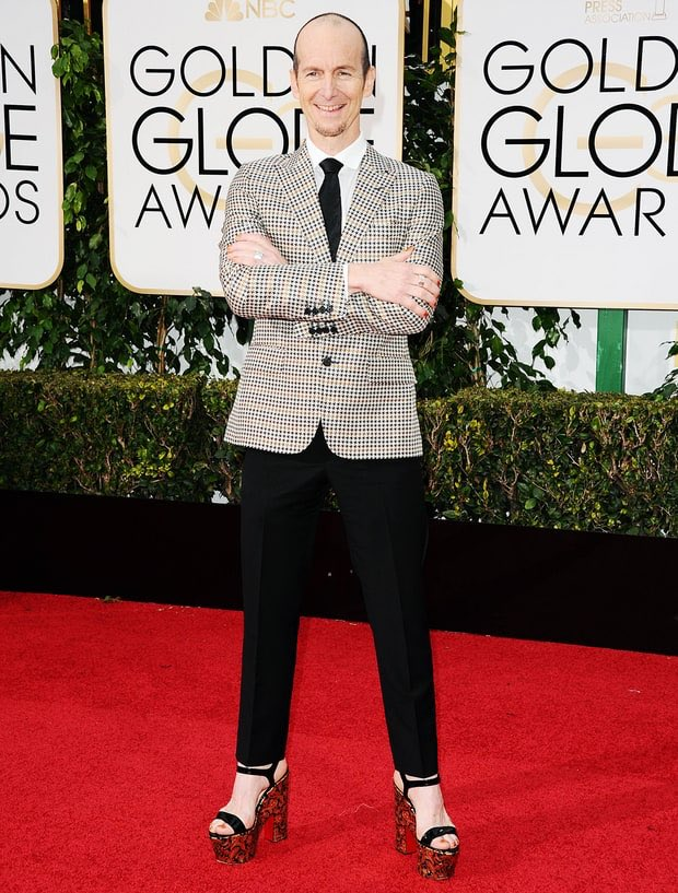 The wonderful @denisohare at the #GoldenGlobes. #AHSHotel https://t.co/Vo1En3RlQa