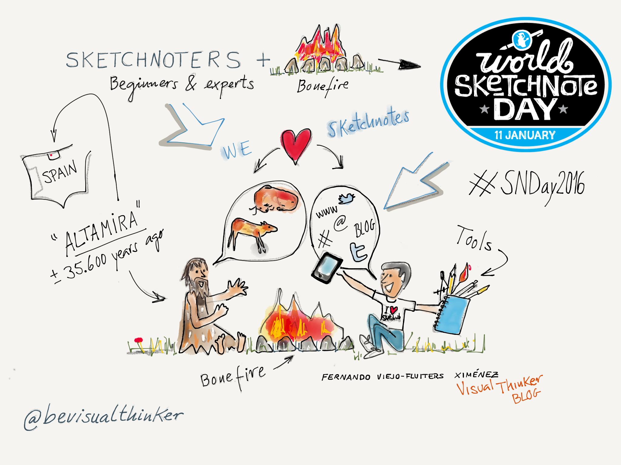 .@SketchnoteArmy Feliz Sketchnote day #SNDay2016 ! Disfrutando con .@FiftyThree https://t.co/xeuGHjlcdN