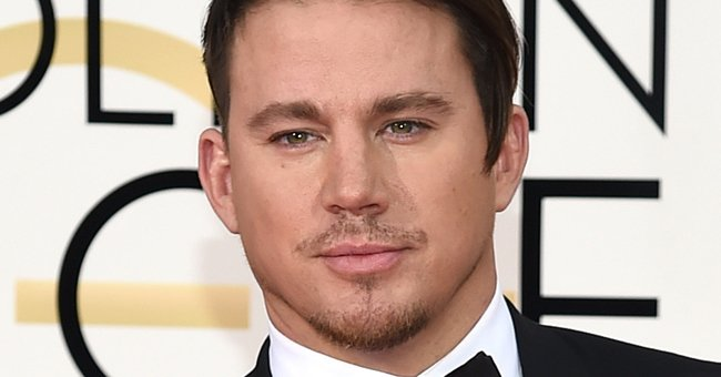 Um. WHAT was going on with Channing Tatum's GoldenGlobes hair last night...?!