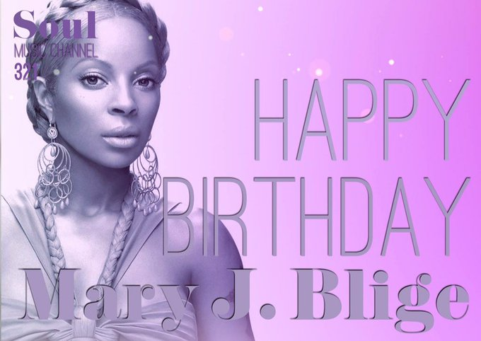 Happy Birthday to Grammy Award-winning R&B singer who released over 7 multi-platinum records, Mary J. Blige!
