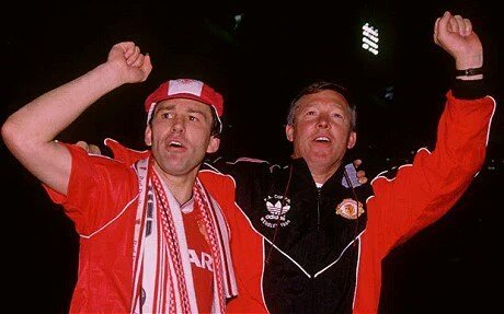Happy Birthday to our Captain Marvel Bryan Robson