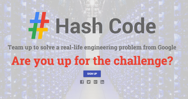 We're 1 month away from #hashcode2016. Visit https://t.co/NQzqWh2i4r to learn more and sign up. https://t.co/PyjAYCz6i0