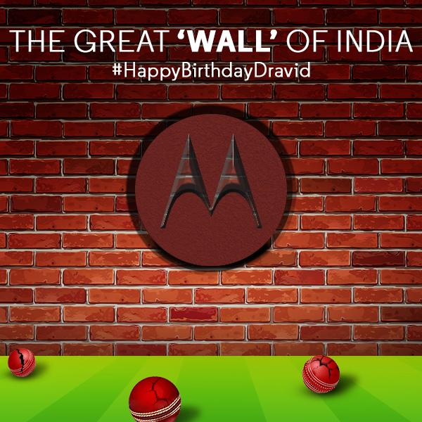 One of the finest batsman in cricketing history, Rahul Dravid celebrates his 43rd birthday! Happy Birthday Rahul!