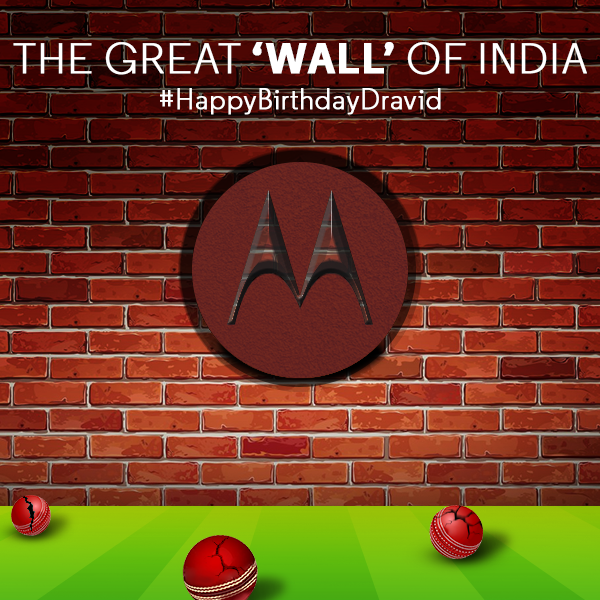 One of the finest batsman in cricketing history, Rahul Dravid celebrates his 43rd birthday! Happy Birthday Rahul!
