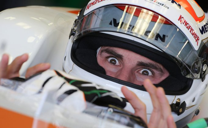 Happy Birthday Adrian Sutil, 33 today! 128 - starts 4th - Best finish 124 - Total points