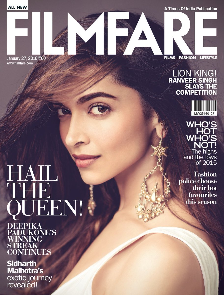 All hail the queen!   Presenting the fabulous @deepikapadukone on our latest cover. https://t.co/gc9h4fw9Cn