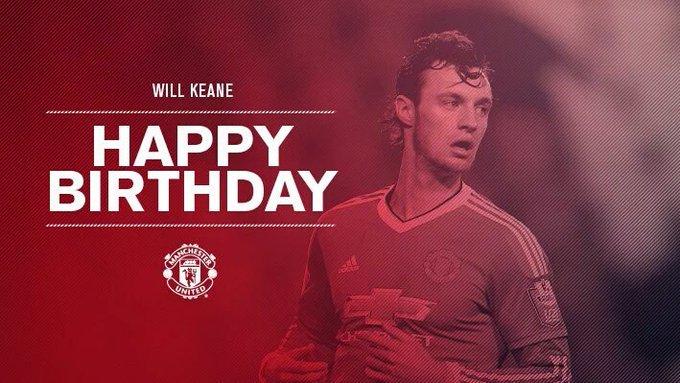 Happy Birthday Will Keane