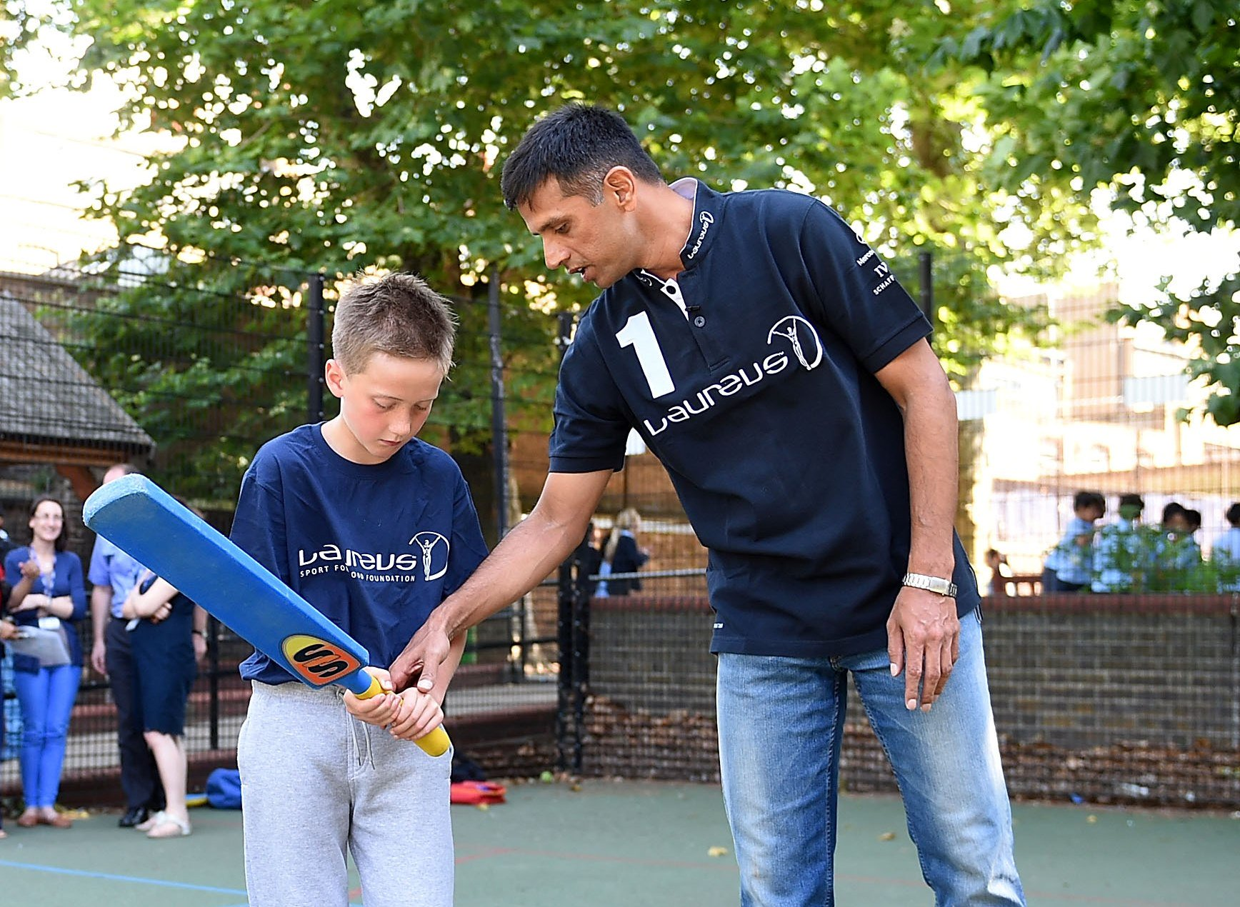 Happy birthday to cricket legend and Laureus Academy Member Rahul Dravid!