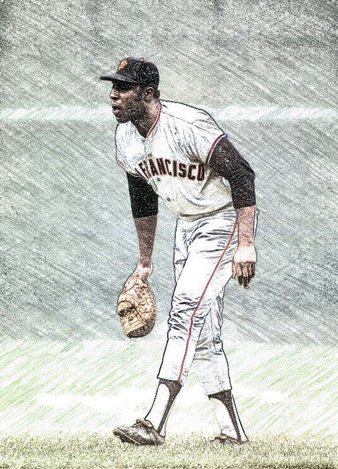 this is my favorite Willie McCovey picture I drew for MAC Happy Birthday