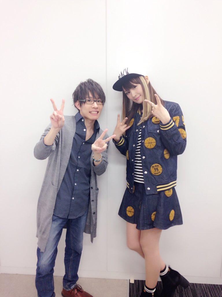 ◎小林ゆうですなう。昨日の『Classroom☆Crisis』のイベントで北原コジロー役の豊永利行さんとお撮りいただいた