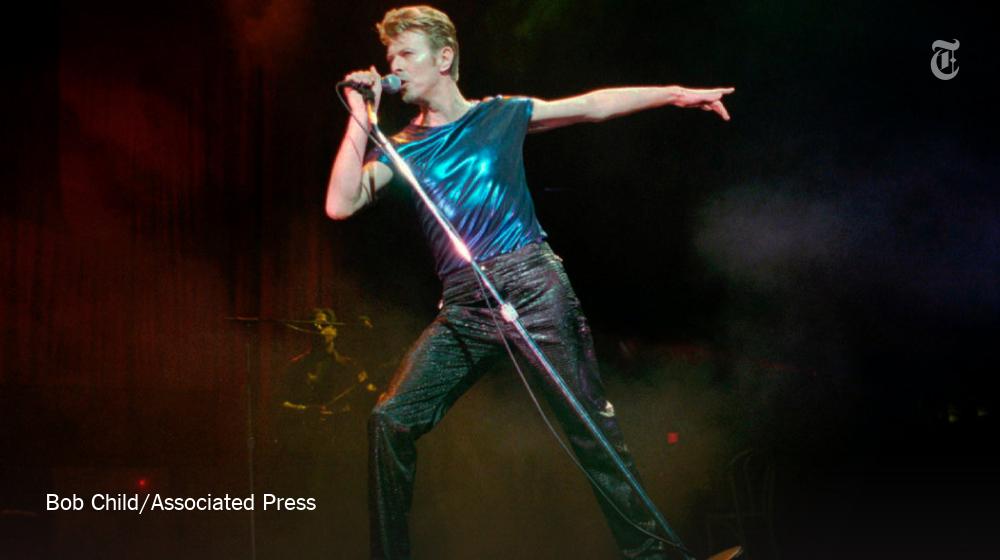 "David Bowie was ""his generation's standard-bearer for rock as theater,"" writes Jon Pareles https://t.co/g3qgXnLaTw https://t.co/8eWJkt5FTF"