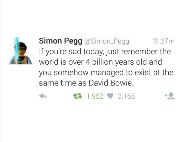 Beautiful words by @Simon_Pegg #RIPDavidBowie https://t.co/B4wWPDkix2