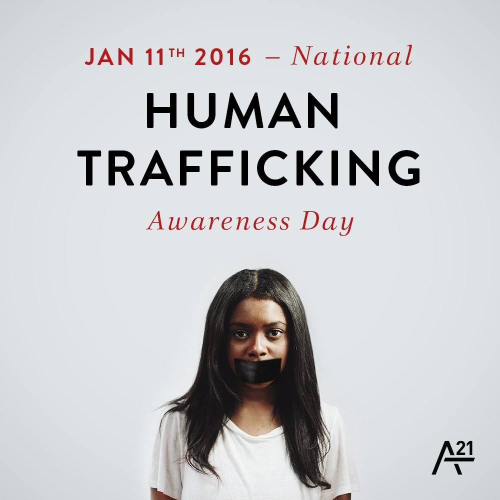TODAY is National #HumanTrafficking Awareness Day! Stand for freedom by sharing this photo & spreading the word! https://t.co/kfiG2IlnX7