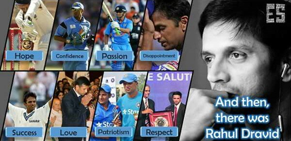 Happy Birthday to one of the best cricketers , Rahul Dravid !