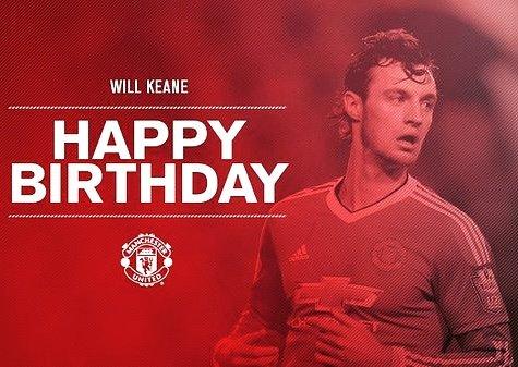 Happy 23rd birthday, Will Keane!