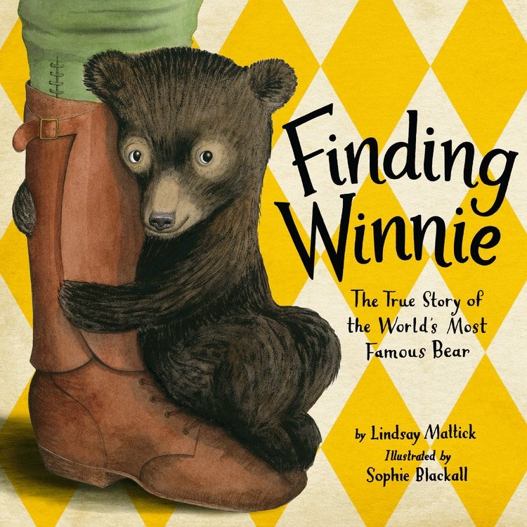 FINDING WINNIE illustrated by Sophie Blackall is the 2016 CALDECOTT MEDAL!!!!