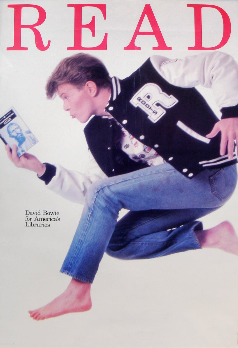 David Bowie's 100 favorite books. #RIPDavidBowie https://t.co/oDRAKIcg3E https://t.co/ZUs5MfPrU1