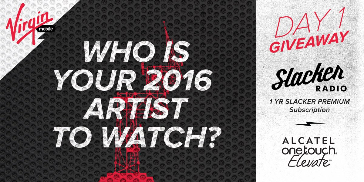REPLY & RT using #2016ArtistsToWatch for a chance to win! Hear our picks on @SlackerRadio https://t.co/veX3K343pF https://t.co/NjeCwpR3Ma
