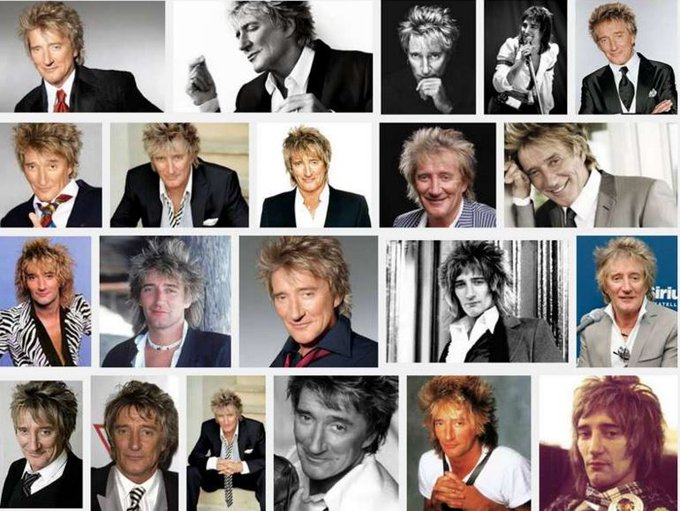 Happy 71st Birthday Rod Stewart you re way more than just sexy!