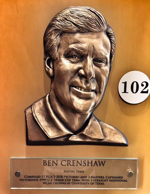 Happy Birthday to Ben Crenshaw, a husband, father, gentleman, champion, historian, Hall of Famer, architect & icon.