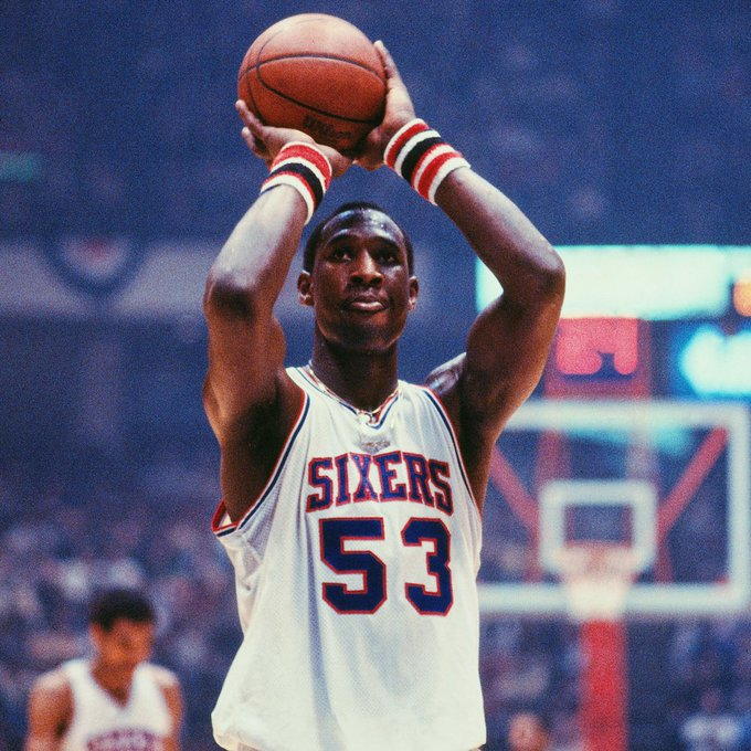 Happy birthday to one of the best to ever do it; the late, great, Darryl Dawkins.