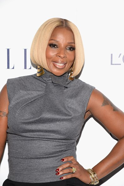 Nap-town!! lets Send a Big Happy Birthday to Mary J. Blige!! She Turns 45 today.  HAPPY BITHDAY!!!