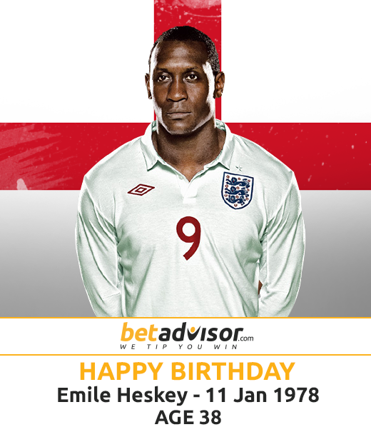 Happy Birthday to Emile   The best wishes for the footballer.