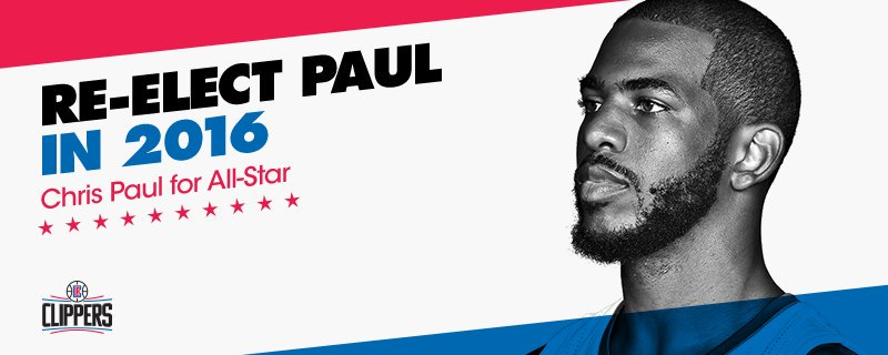 Retweet to vote for @CP3 to the All Star Game! #NBAVote https://t.co/IYaXGAk2YI