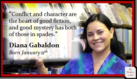 Happy Birthday Diana Gabaldon! I  and loving it!