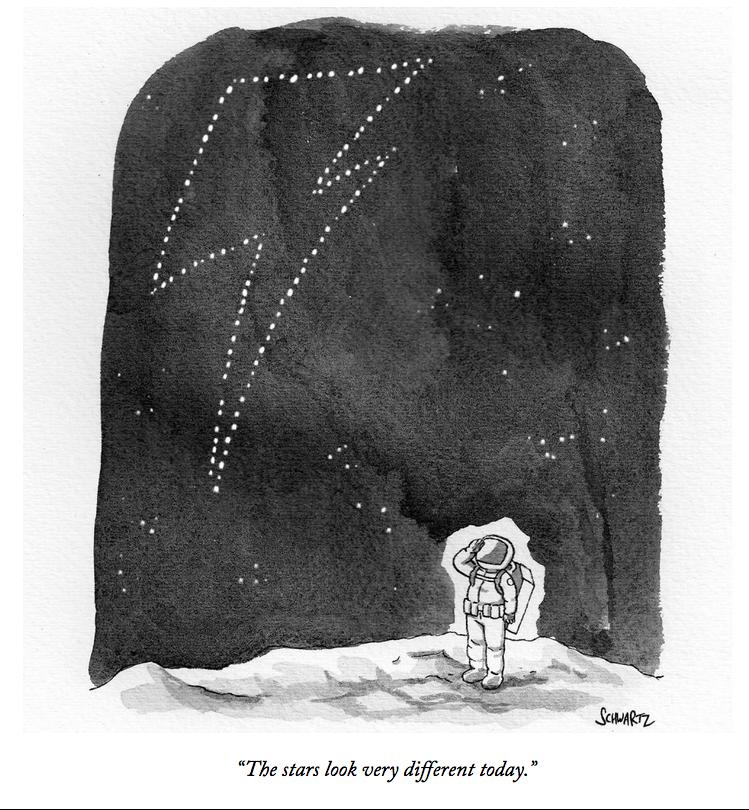 Remembering David Bowie, in this cartoon by @BentSchwartz: https://t.co/1t3dA6EDoT https://t.co/p8B3tTeavj