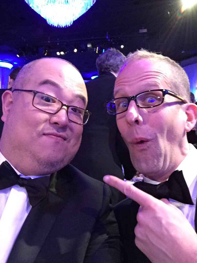 Fun night at the golden globes! Full pride for Pixar and huge congrats to Pete Docter Jonas and the inside out team! https://t.co/Sg9k0Ss2Cz