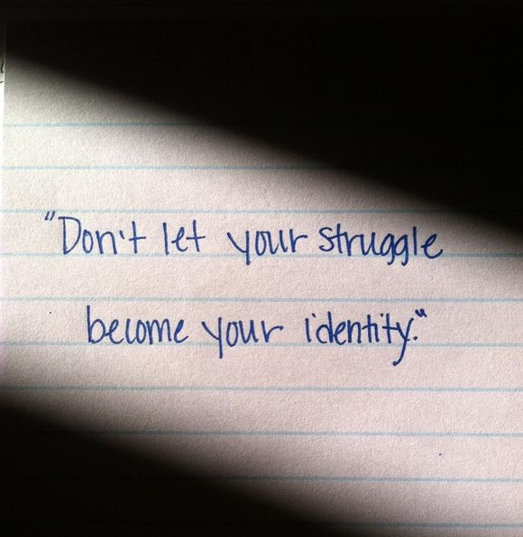 Don't let your struggle become your identity. #sales #quote https://t.co/SlYlOPvqsQ
