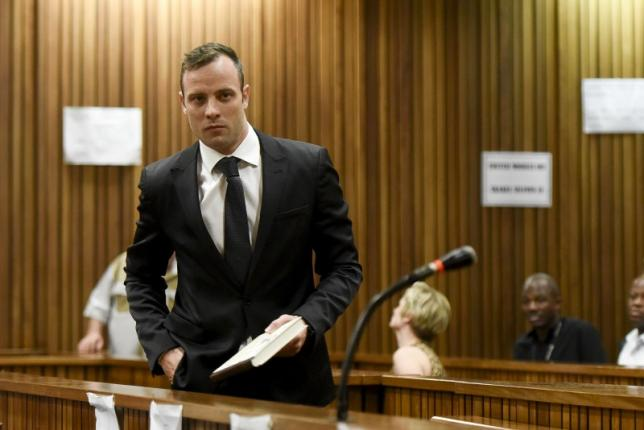 Oscar Pistorius files papers to appeal conviction for the murder of his girlfriend: