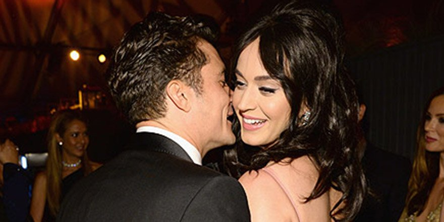 Katy Perry hangs out with Orlando Bloom at GoldenGlobes afterparty