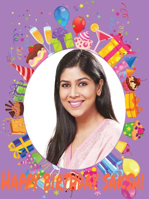 Happy birthday sakshi tanwar