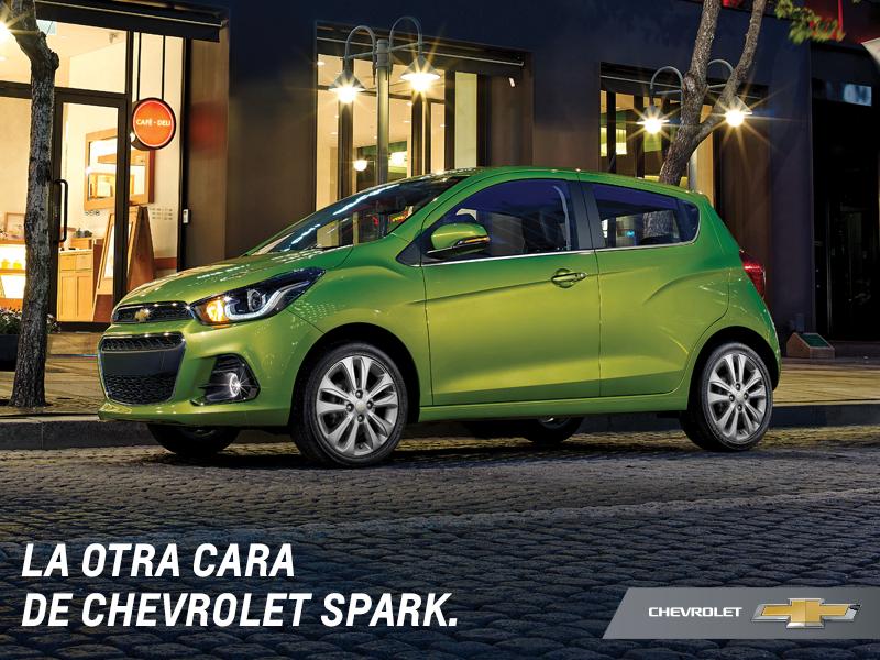 """Chevrolet Spark 2016 viene con todo: ✔Rines15"""" ✔Faros con luces LED ✔Nueva parrilla ✔Smartphone Integration y más. https://t.co/o65KBn7tZu"""