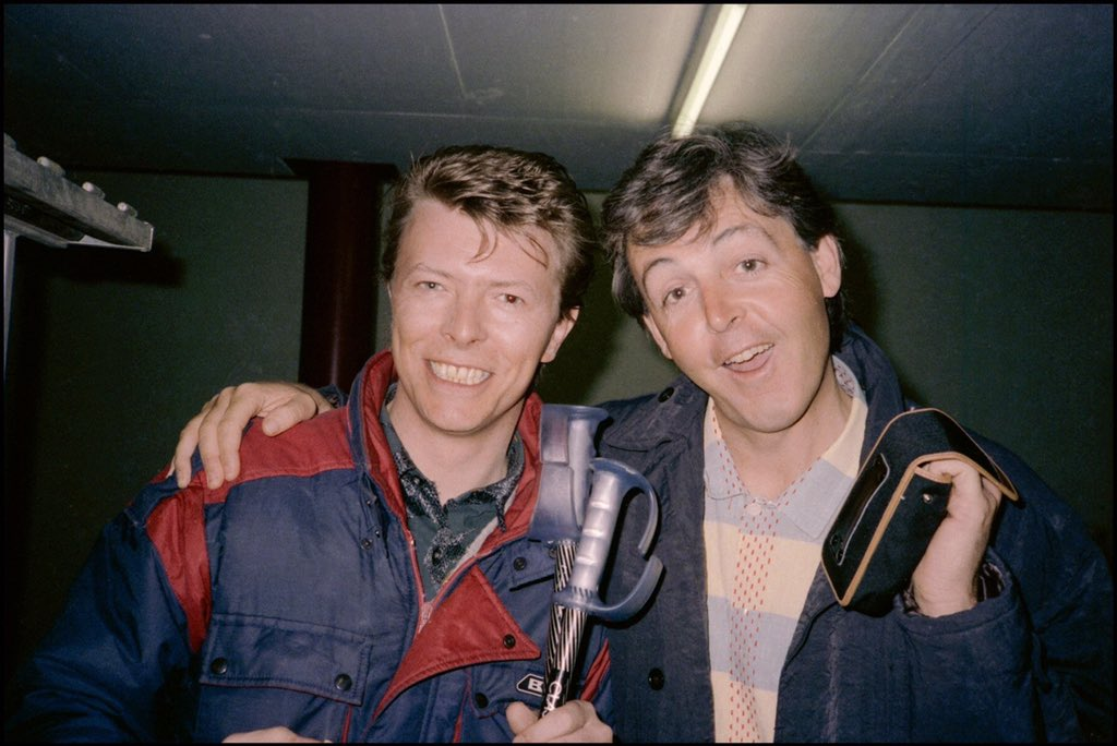 Found this on Paul McCartney #Facebook.Though I would share it with everyone :) #RIPDavidBowie https://t.co/KVzS3SDF1D