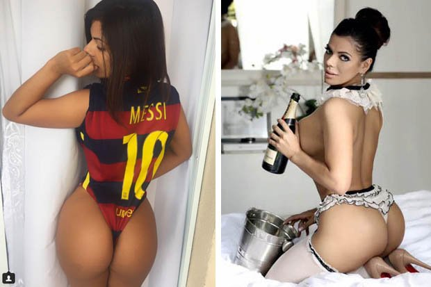 RT @IsFearrAnStar: Miss BumBum pledges allegiance to Lionel Messi in ... - https://t.co/q3RdzKQPjl #messi #ballondor #missbumbum https://t.…