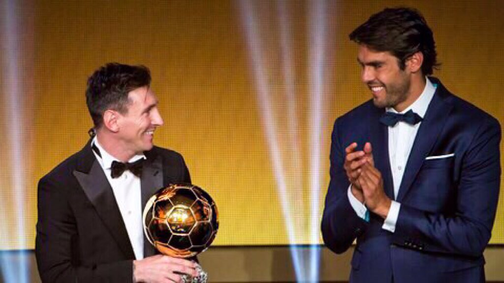 Ladies and Gentleman The FIFA Ballon D'Or 2015 goes to Messi