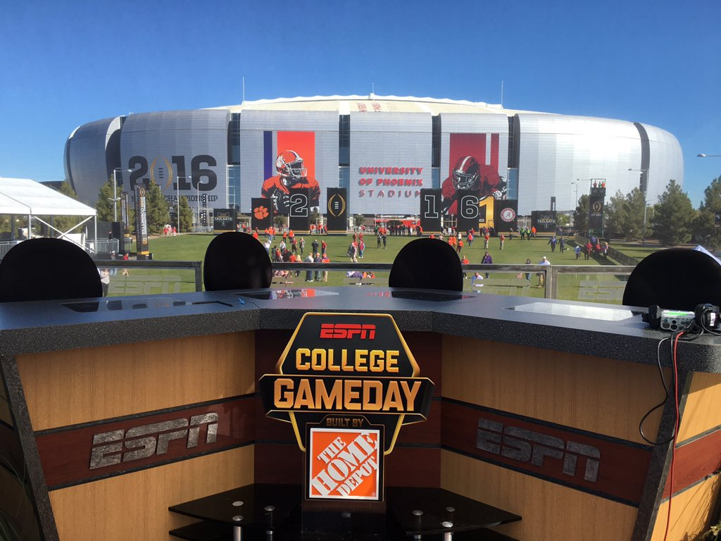 espn ncaaf gamecast college football game times