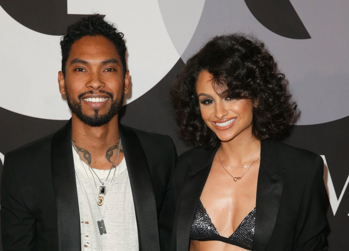 Miguel got engaged to his girlfriend of 12 years, model-singer Nazanin Mandi
