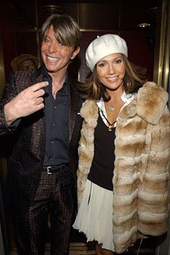 Remembering the legend @DavidBowieReal (pictured w/ @JLo in 2002) #RIP sir!!