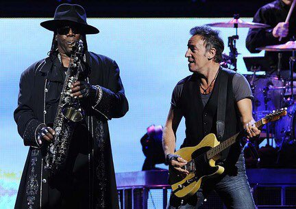 Happy birthday Clarence Clemons, gone but never forgotten, play that sax in the sky big man!