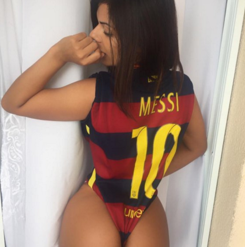 RT @OddscheckerAu: Miss BumBum wasn't at the #BallondOr this morning but she won the show on Instagram... https://t.co/2feqzoXIDN