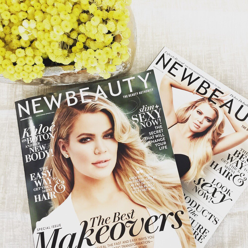 So nice they put me on twice ???? thank you @newbeauty for my two covers!! ???????????? https://t.co/cfjVRnWsqW