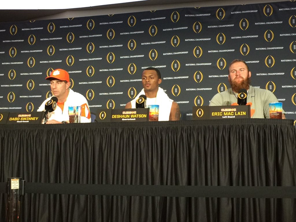 "Dabo: ""We will be back. It will not be 34 years before we are back."" https://t.co/2IcPL1vaPj"