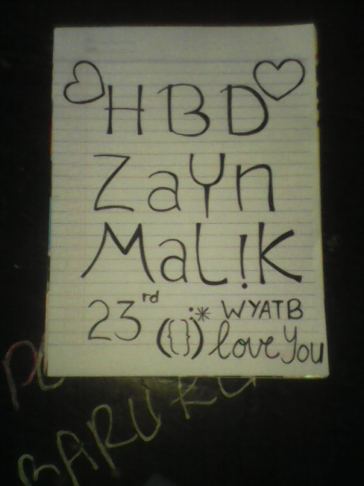 Happy birthday Zayn Malik Wish You All The Best I Love you