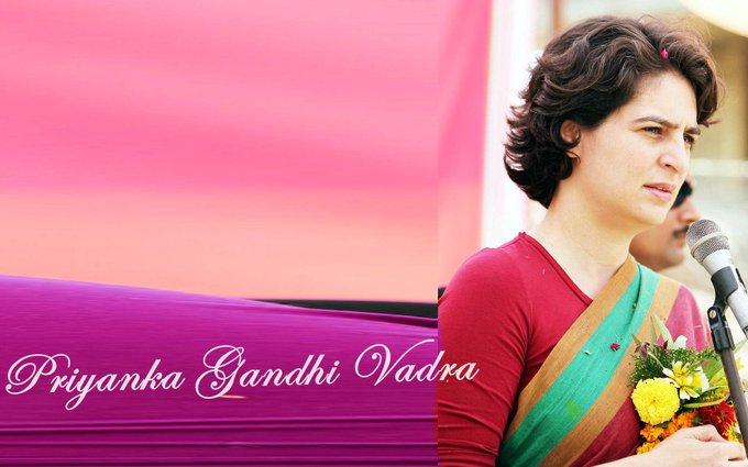 Happy Birthday to Priyanka Gandhi Vadra, hope you join politics in near future!!