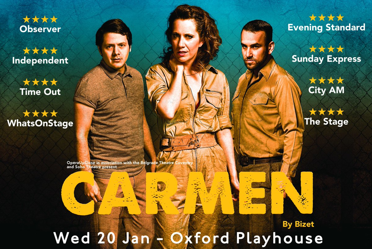 Enter our Carmen #Competition...  Retweet this photo for a chance to win 2 tix for Carmen on Wed 20 Jan! https://t.co/ZT8NW0jt9q
