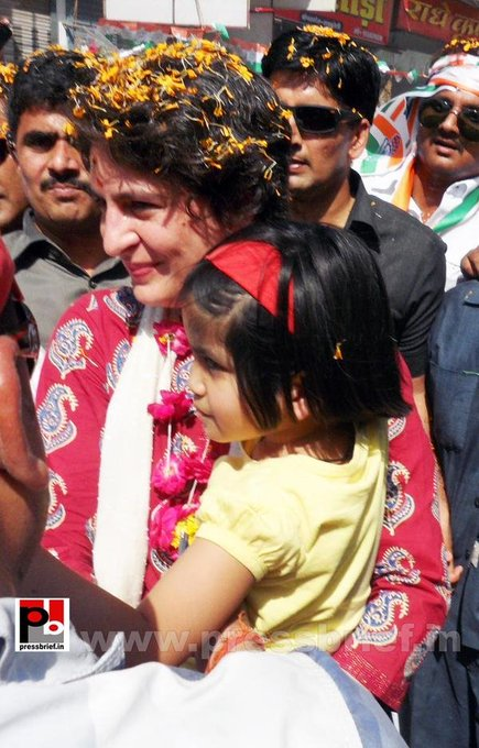 Many many returns of the day Happy birthday to youth future leader of India Priyanka gandhi ji